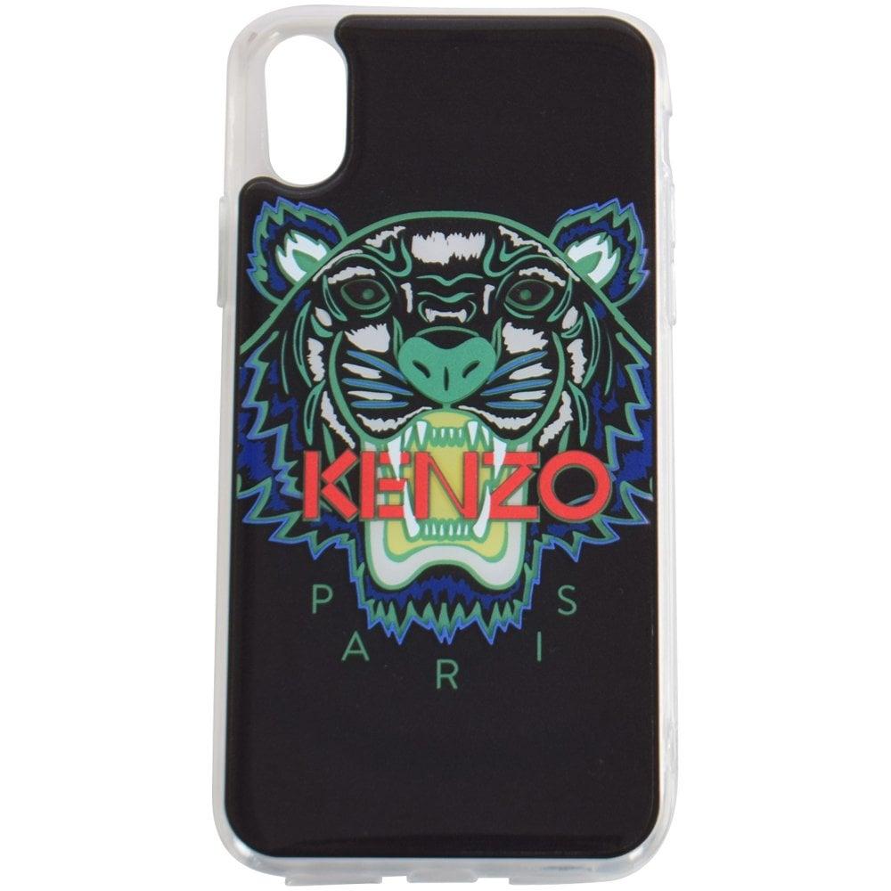 best service faf67 19c6e Black Tiger iPhone X Phone Case