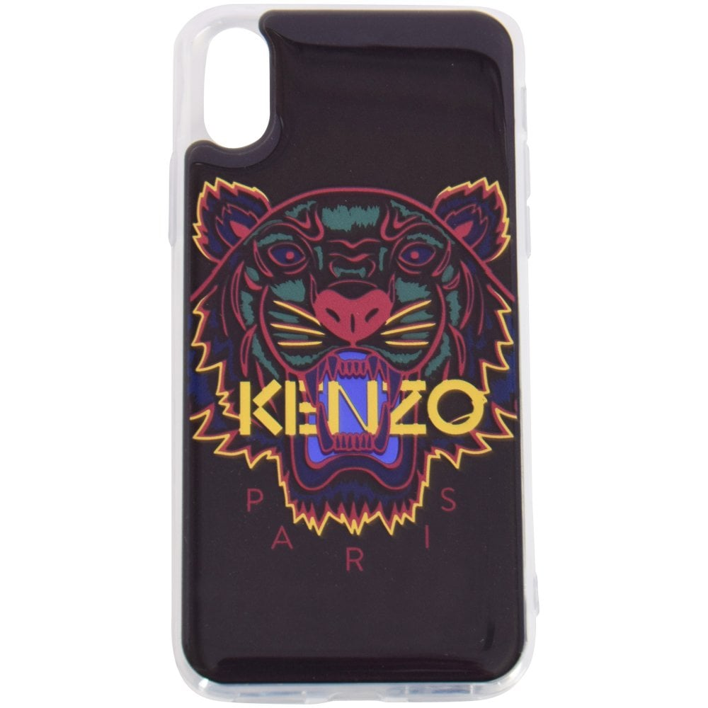 brand new 27f58 d5606 KENZO Black Tiger iPhone X/Xs Phone Case