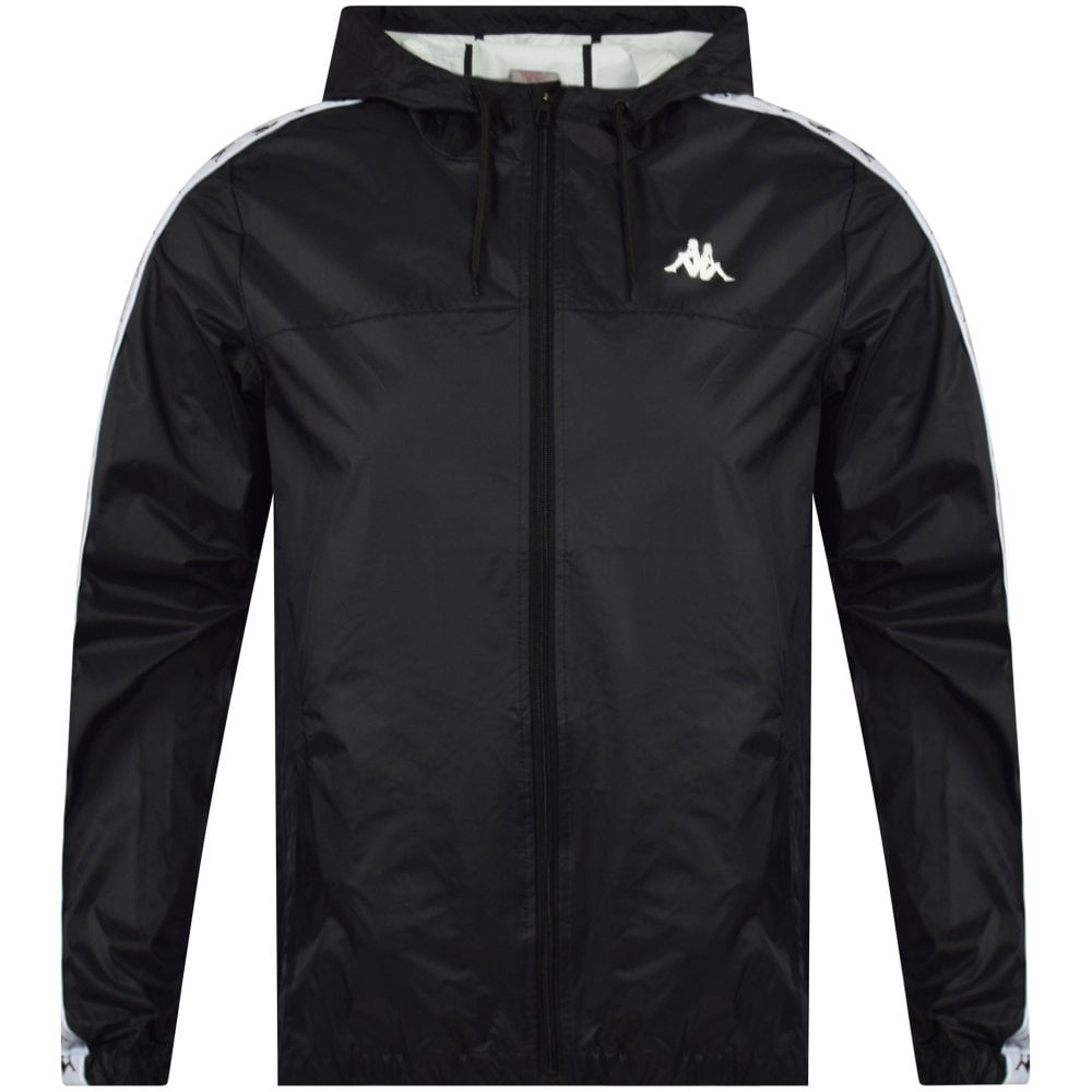 be1471eb8d KAPPA Black/White Banda Dawson Jacket - Men from Brother2Brother UK