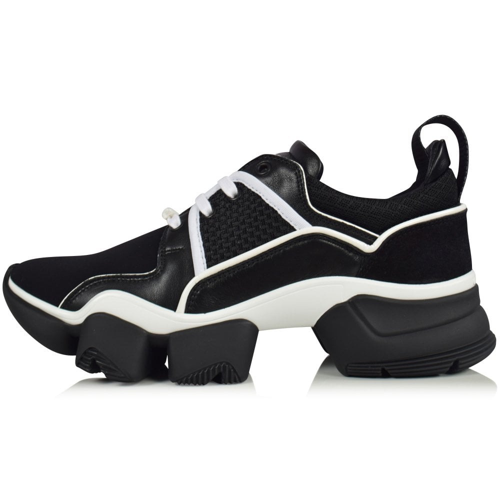 GIVENCHY Black/White Jaw Trainers - Men