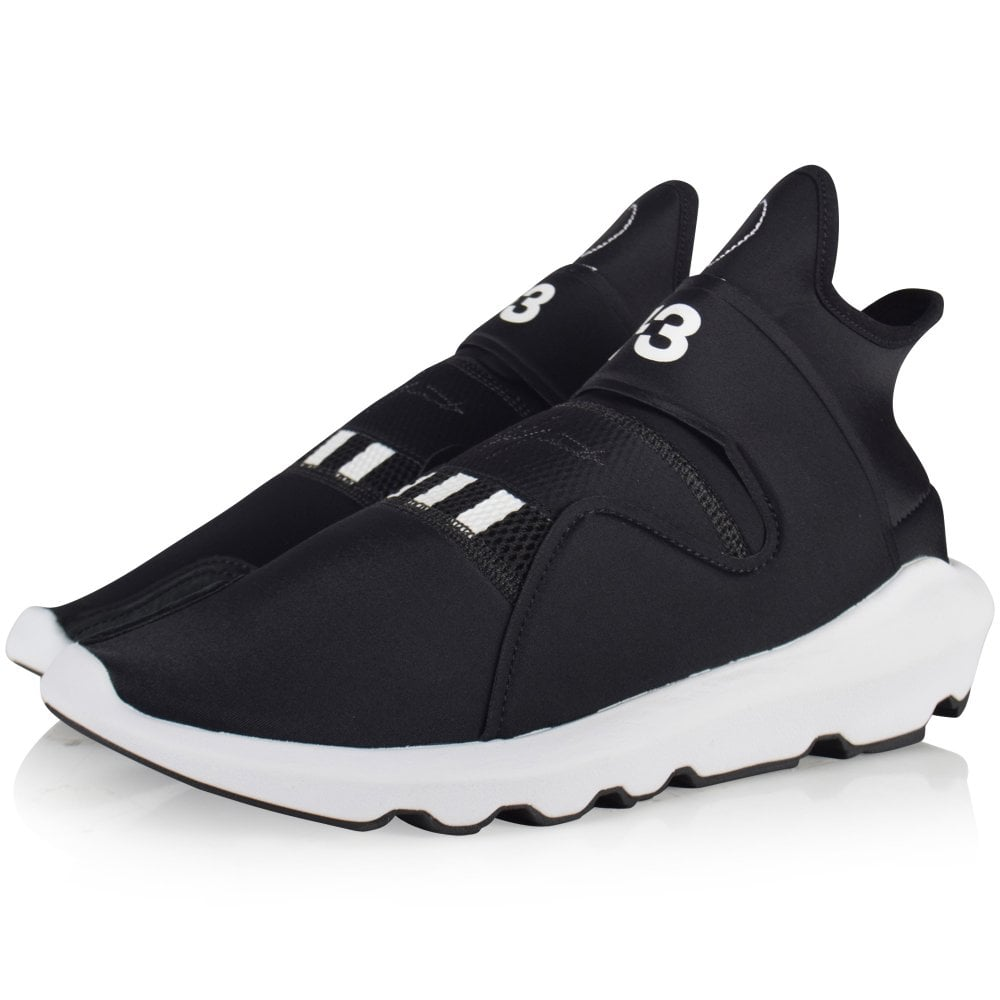 f25346fa5478 ADIDAS Y-3 Black White Suberou Trainers - Men from Brother2Brother UK