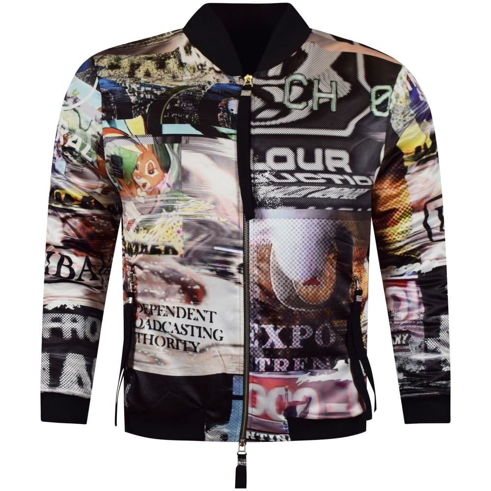 Blood Brother Blood Brother Multi All Over Print Bomber