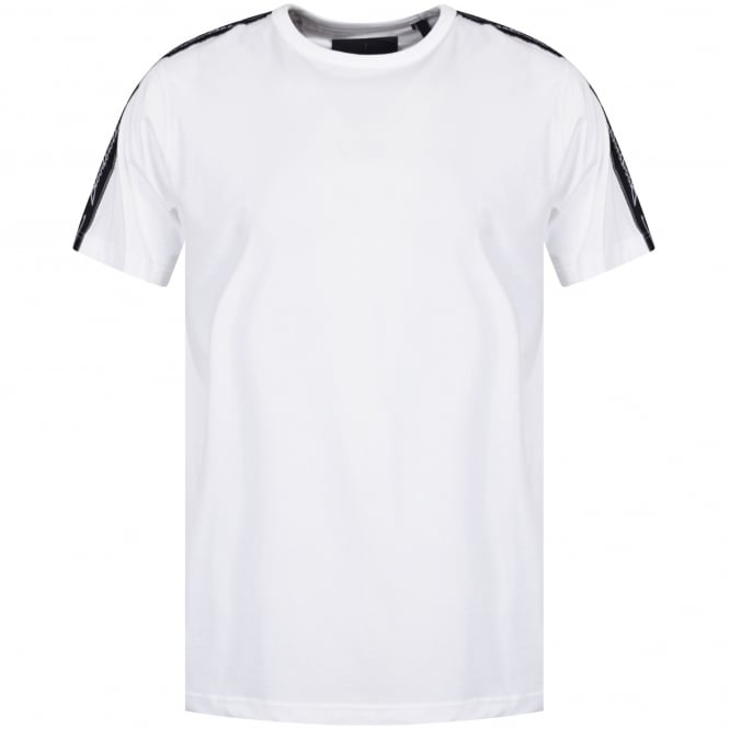 BLOOD BROTHER White Cable T-Shirt