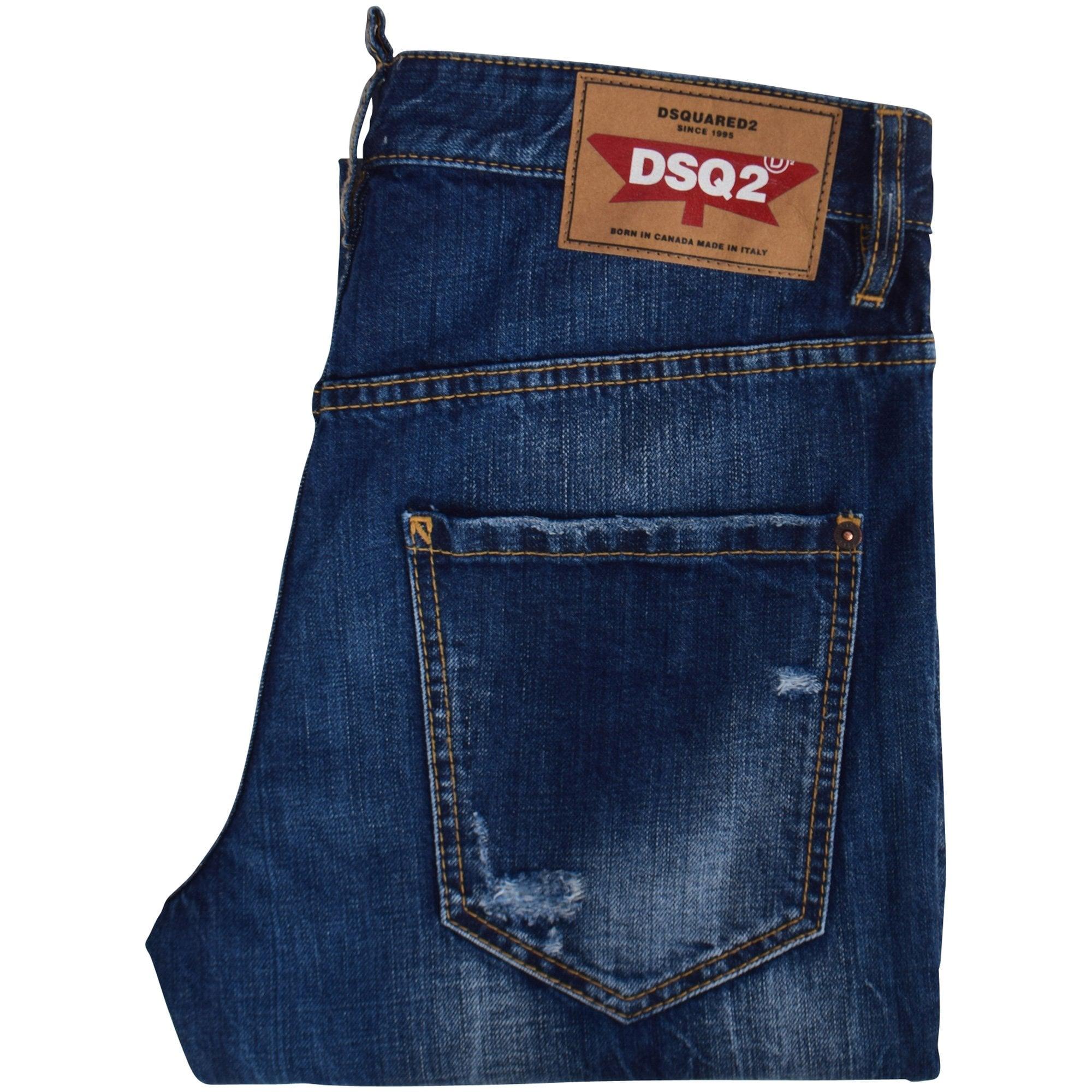 New Men/'s coolguy Jeans Skinny Trousers White Jean Italy size Fashion Logo
