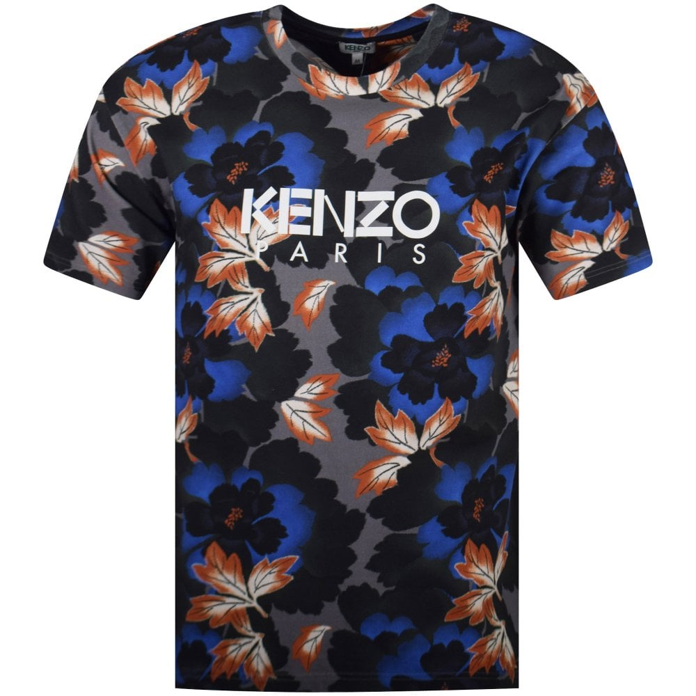 71be4c23b KENZO Blue Floral T-Shirt - Department from Brother2Brother UK