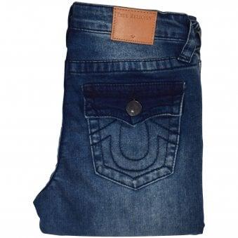 65a844318ab1d Blue Light Distressed Rocco Jeans. TRUE RELIGION ...