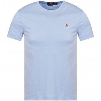 35a7cb4296613 Blue Logo Custom Slim Fit T-Shirt · POLO RALPH LAUREN ...