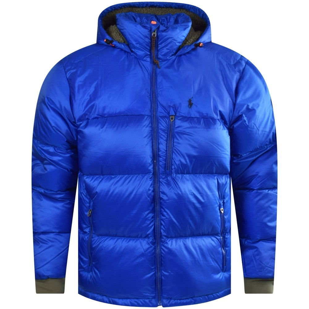 100% quality quarantee top style choose official Blue Water-Repellent Down Jacket