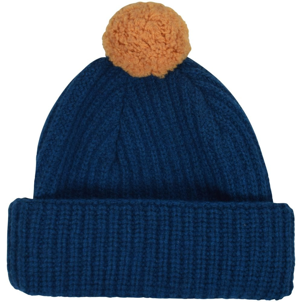 059719e81a9 PS PAUL SMITH Blue Yellow Bobble Hat - Men from Brother2Brother UK