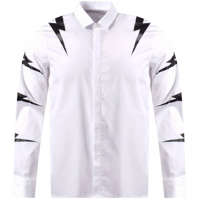 a1f2d049f NEIL BARRETT Bolt Long Sleeve Shirt - Department from Brother2Brother UK