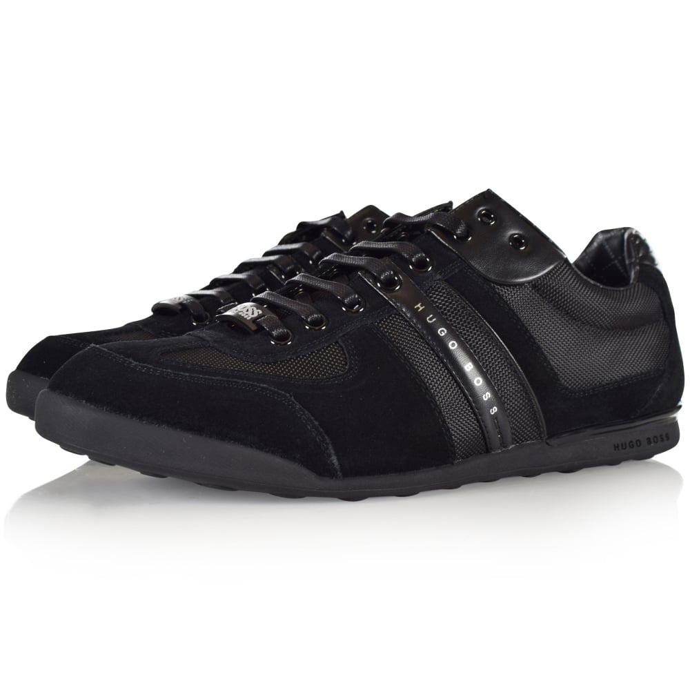BOSS ATHLEISURE Black Akeen Trainers