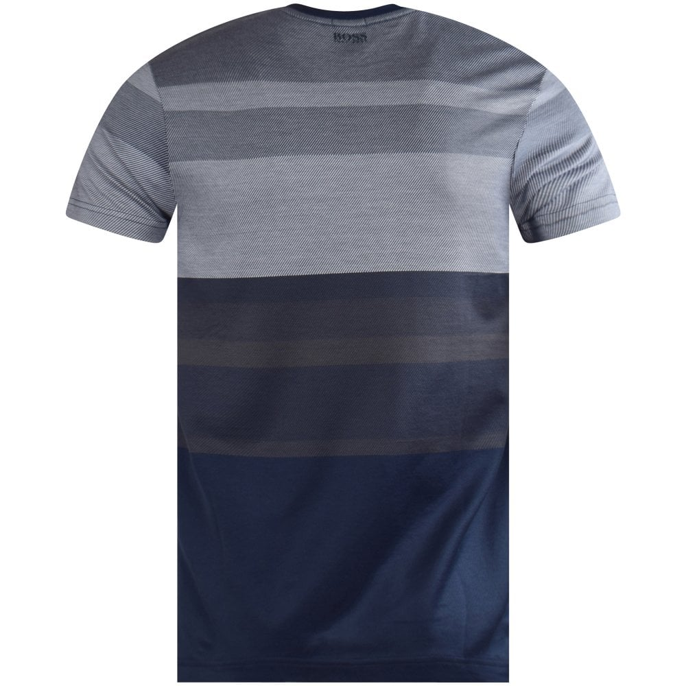 4daf29903 BOSS ATHLEISURE Hugo Boss Multi Coloured Navy T-shirt - Department ...