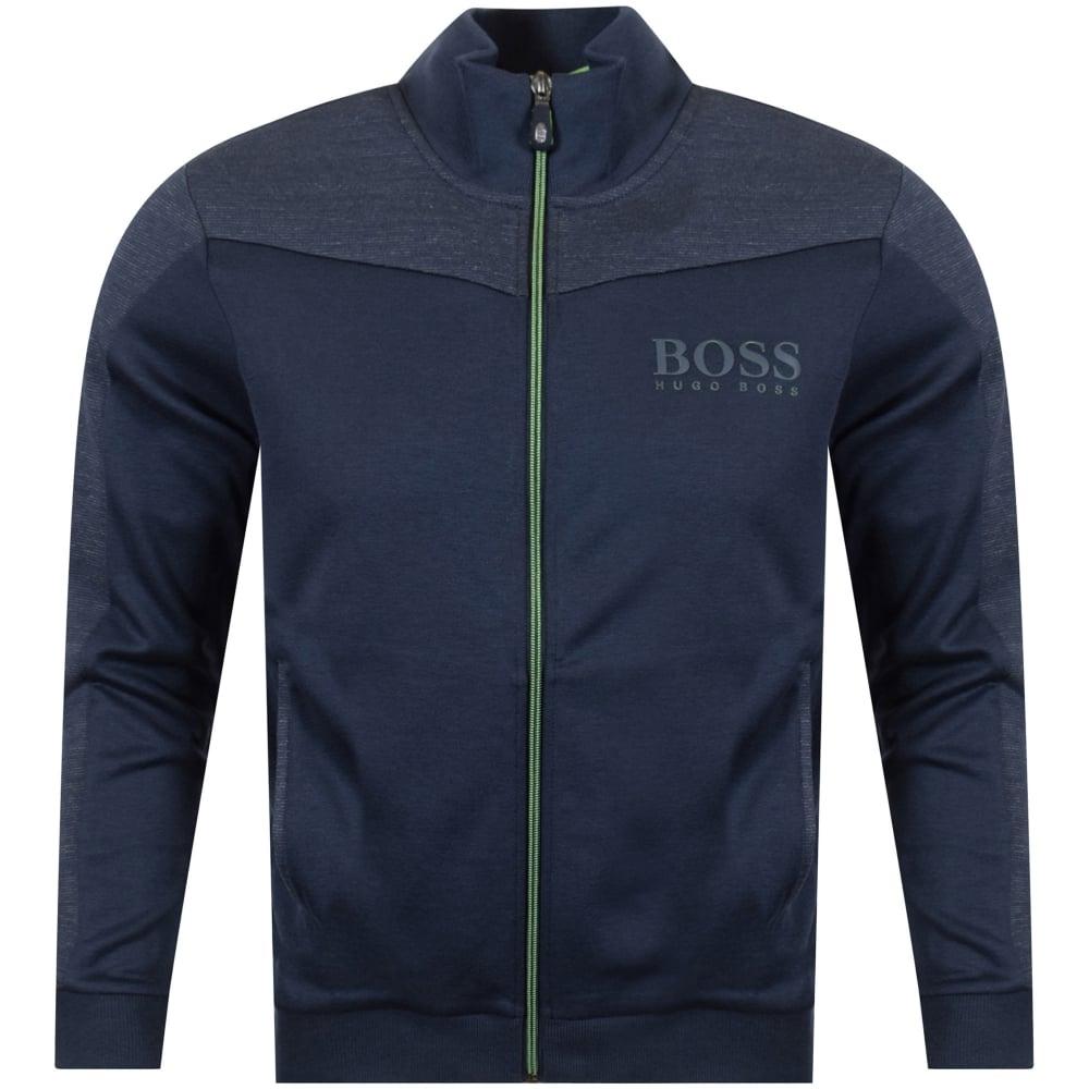 62689b24d2e BOSS Boss Athleisure Navy Logo Zip Track Top - Men from ...