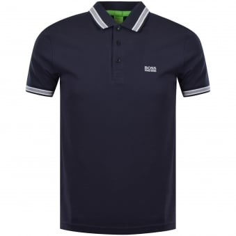 Boss Athleisure Navy Short Sleeve 'Paddy' Polo Shirt