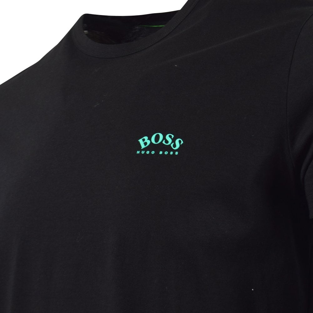 new arrivals unparalleled top-rated latest Black/Teal Small Logo T-Shirt