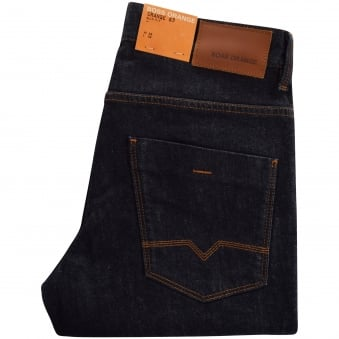 Boss Casual 63 Dark Blue Slim Fit Jeans
