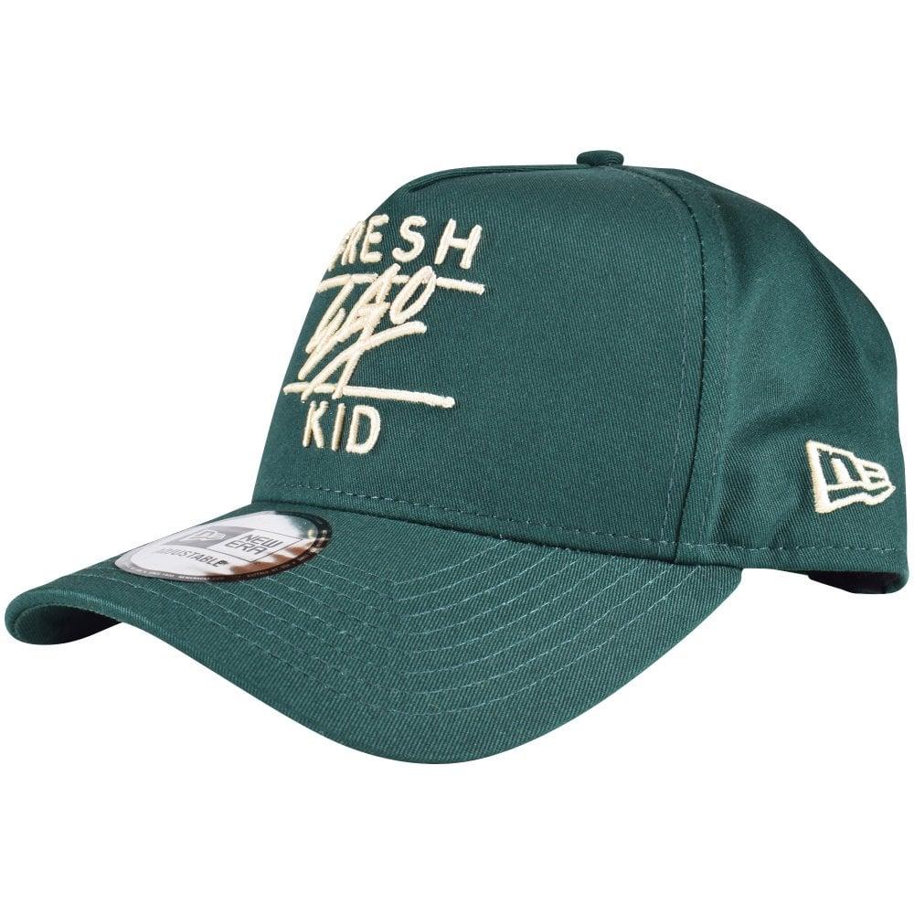 FRESH EGO KID Bottle Green Cream Snapback Baseball Cap - Men from ... 96943431c403