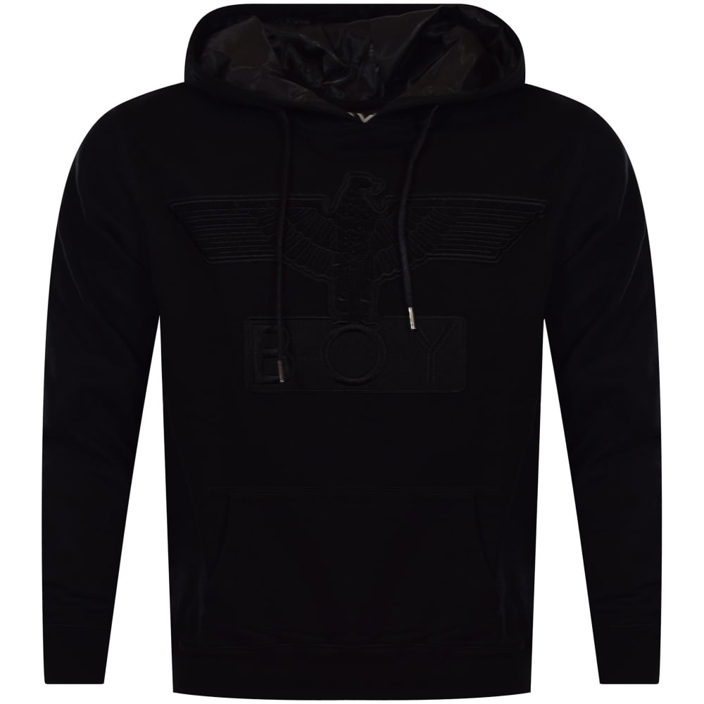 BOY LONDON Black Eagle Applique Hoodie