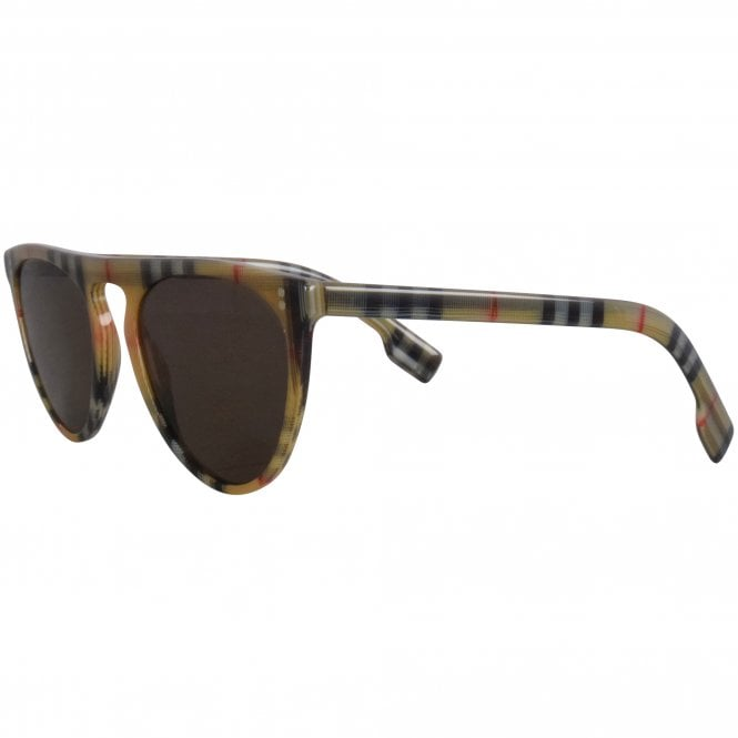 BURBERRY EYEWEAR All Over Iconic Check Sunglasses