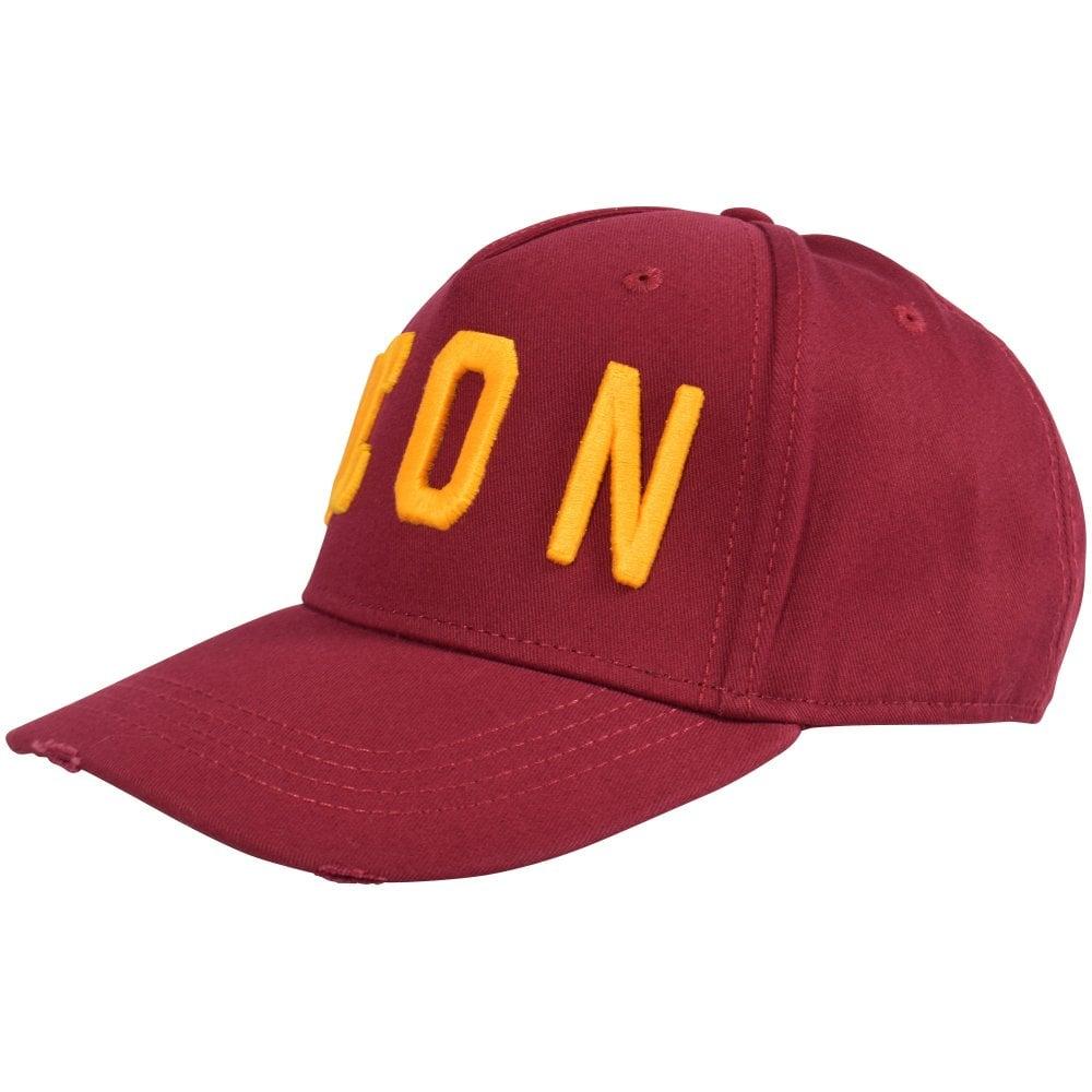 a25c43416 Burgundy Icon Baseball Cap