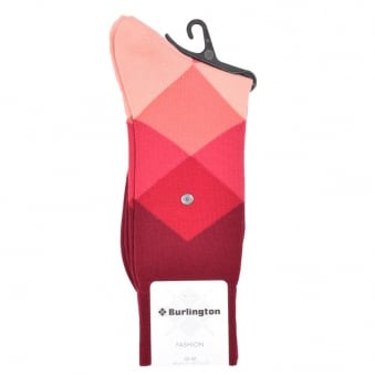 Burlington Clyde Pink Socks