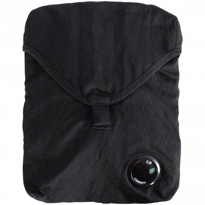 C.P. COMPANY Black Cross Body Bag Front Close