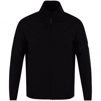 C.P. Company Black Goggle Zip Up Jacket