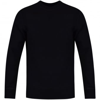 C.P. Company Black Small Logo Sweatshirt