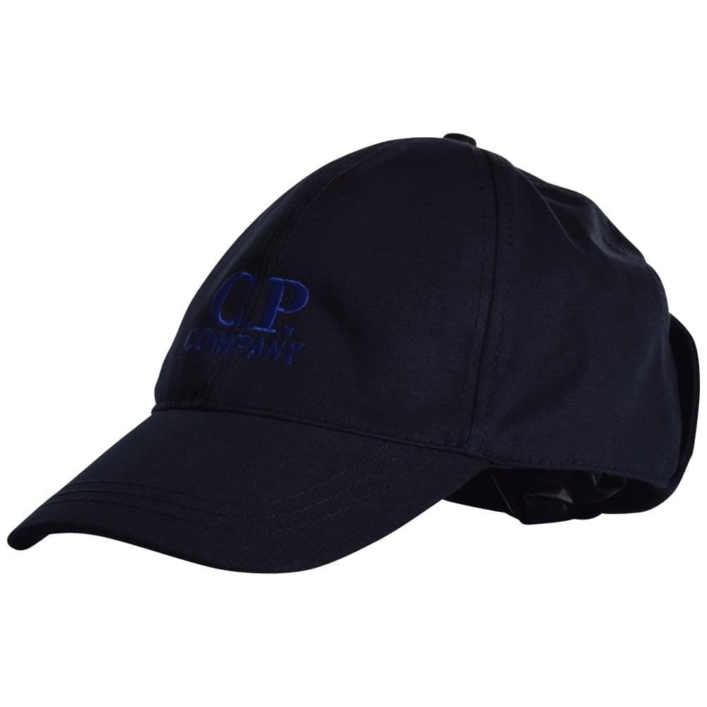 c p company c p company navy goggle baseball cap caps