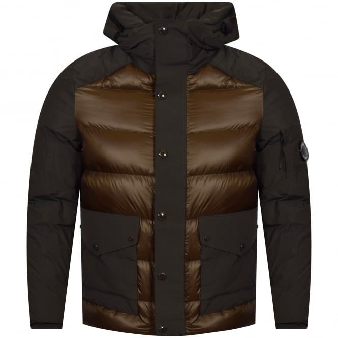 C.P. COMPANY Dark Olive Down Padded Jacket