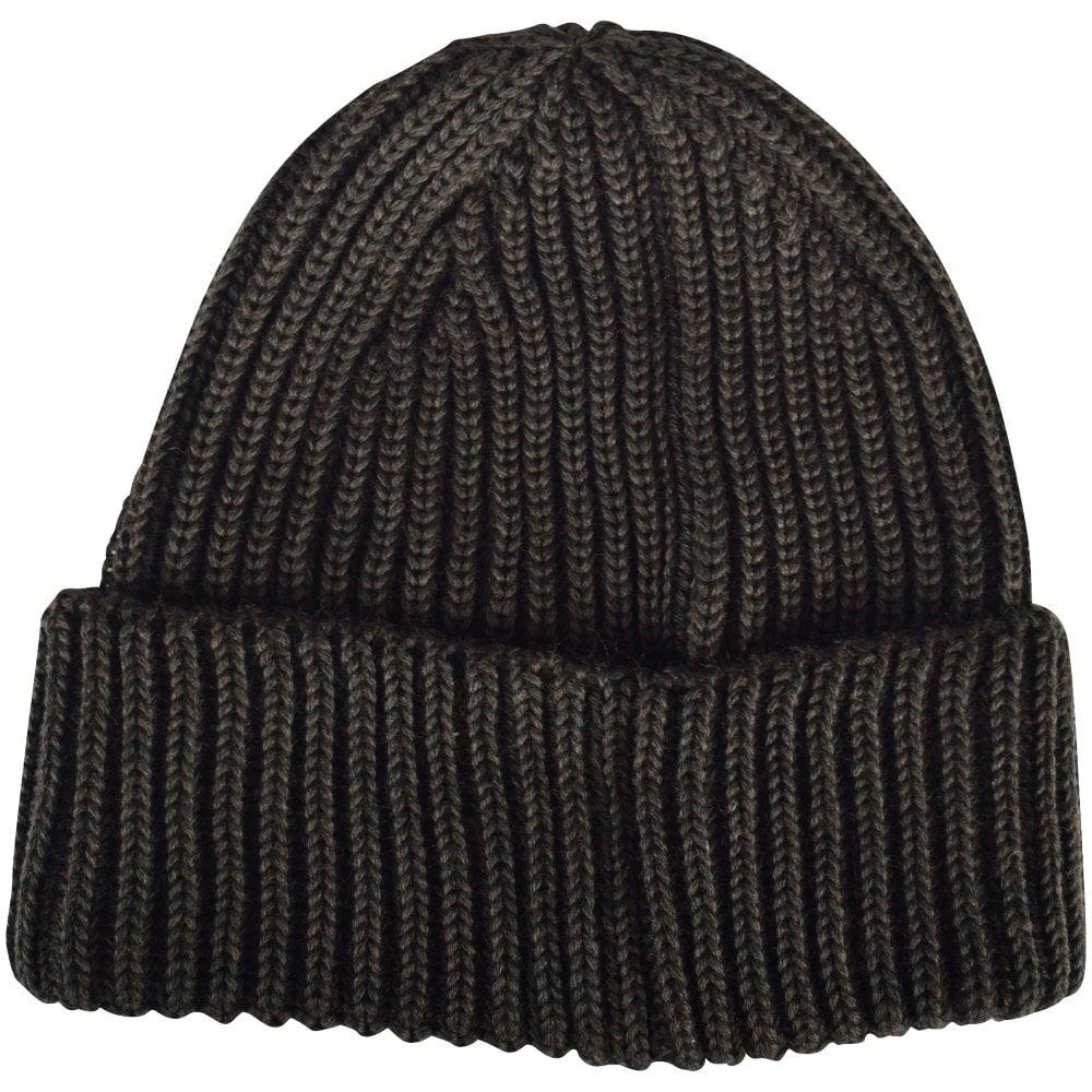e6fb08aa0 C.P. COMPANY Dark Olive Goggle Beanie Hat