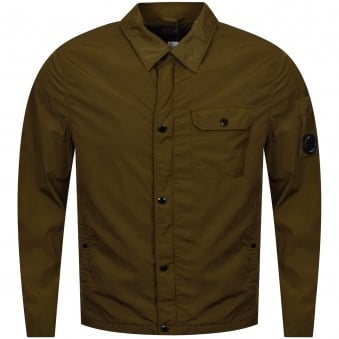 C.P. Company Dark Olive Over Shirt