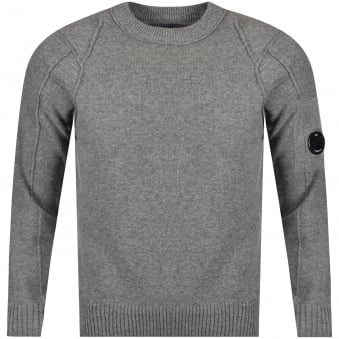 C.P. Company Grey Knitted Jumper