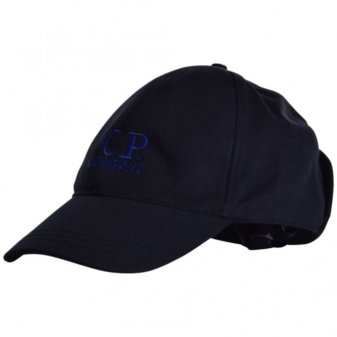 399551c2 C.P. COMPANY C.P. Company Navy Goggle Baseball Cap - Department from ...