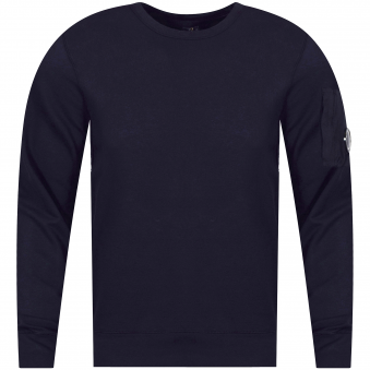 C.P. Company Navy Total Eclipse Sweatshirt