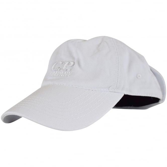 c9c3659e C.P. COMPANY C.P. Company White Goggle Baseball Cap - Department ...
