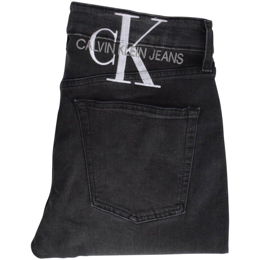folded Calvin Kleid jeans rear pocket