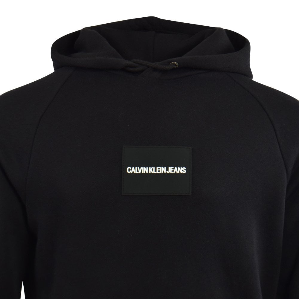 Calvin Klein Hoody Mens Black Hooded