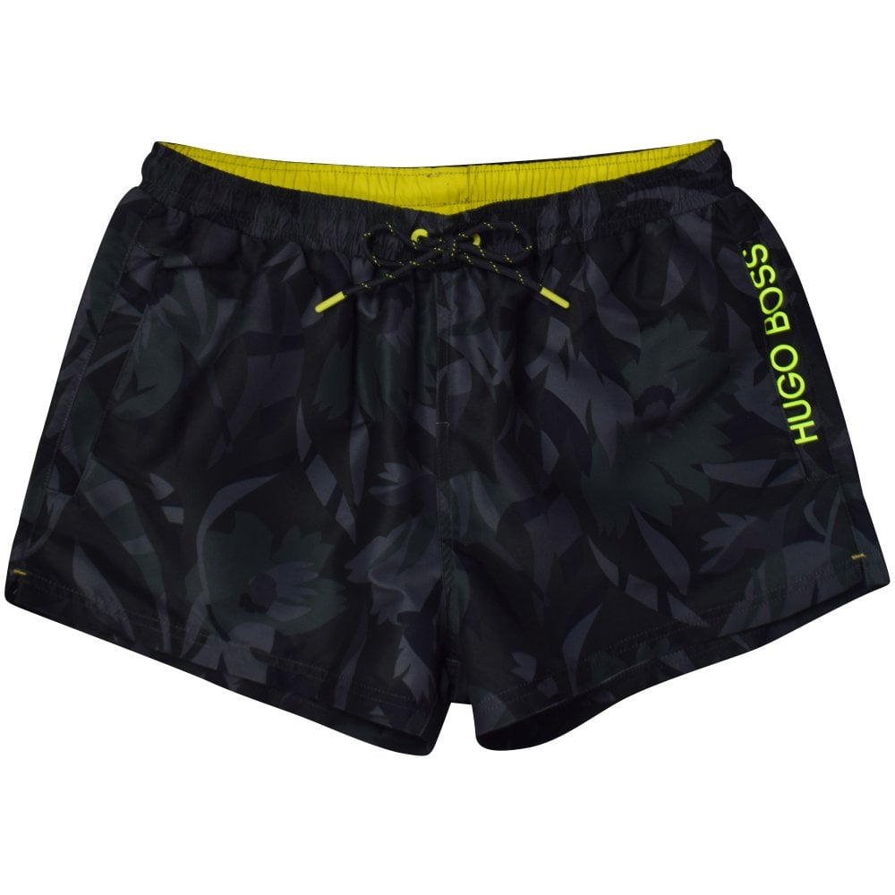 61d49ef8e HUGO BOSS Camo Green Barreleye Swim Shorts - Department from ...