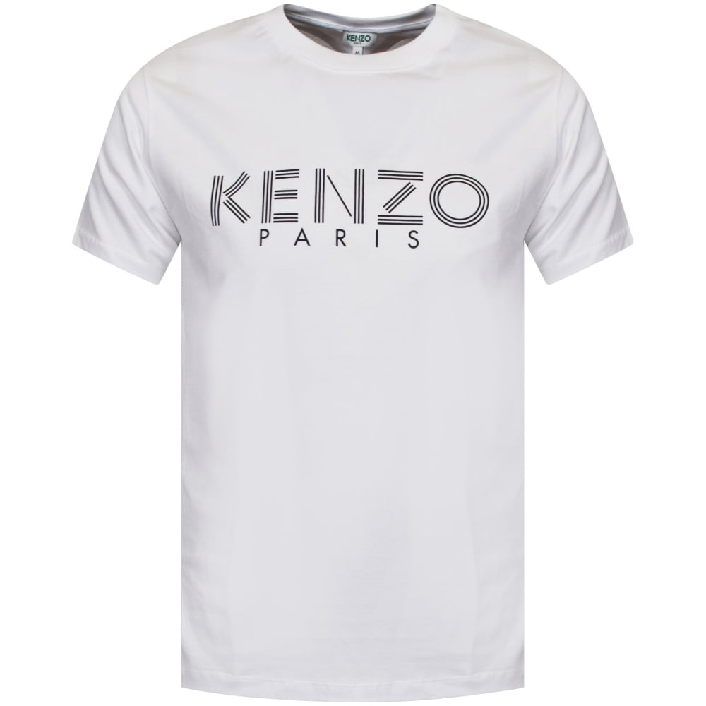 397a5501 KENZO Classic Kenzo Paris T-Shirt In White - Department from ...