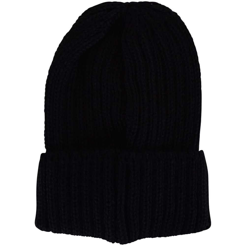 COLMAR ORIGINALS Colmar Originals Black Ribbed Beanie Hat - Men from ... 9c567dc50e8
