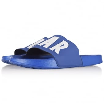 Colmar Originals Blue Logo Sliders