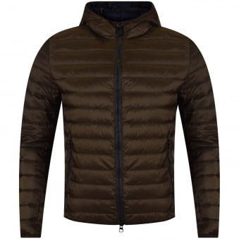 Colmar Green Puffer Hooded Jacket