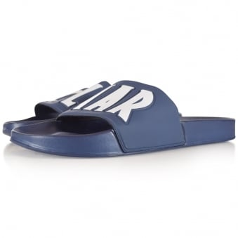 Colmar Originals Navy Logo Sliders