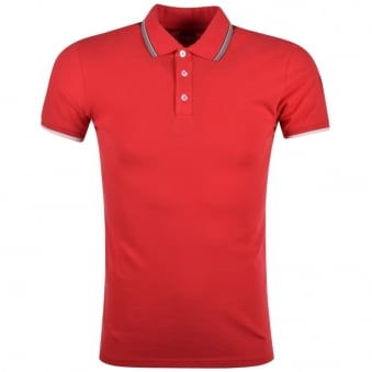 Colmar Originals Red Classic Polo Shirt
