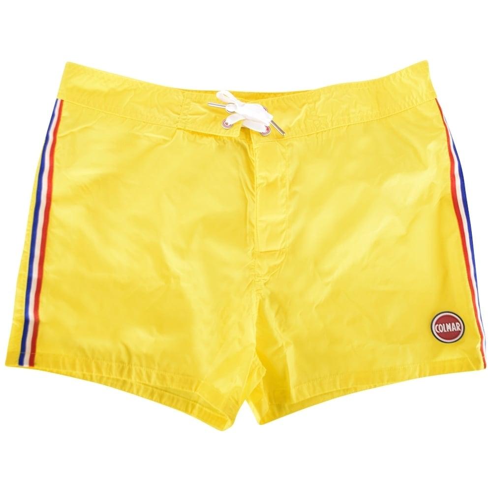 32f3fbcaea99 COLMAR ORIGINALS Colmar Originals Yellow Stripe Swim Shorts - Men ...