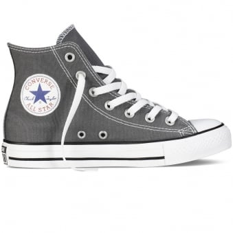 Converse All Star Hi Charcoal Trainers
