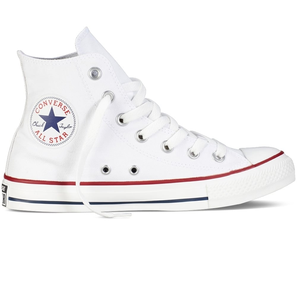 CONVERSE Converse All Star Hi Optical White Trainers - Men from Brother2Brother UK