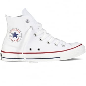 Converse All Star Hi Optical White Trainers
