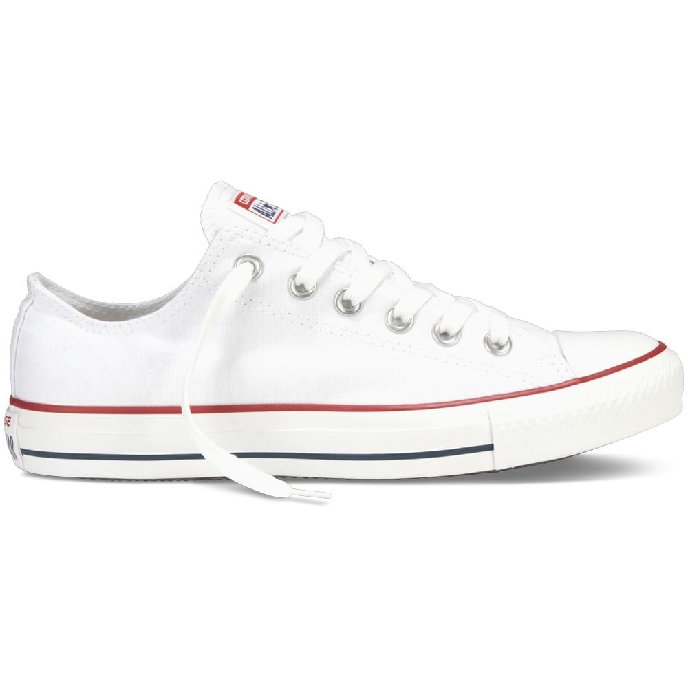 3dcfcbee0146 CONVERSE Converse All Star Low Optical White Trainers - Men from ...